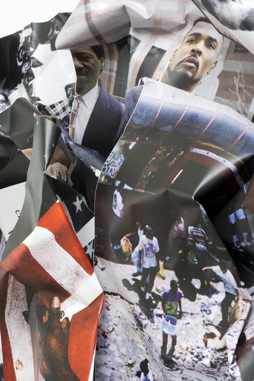 <i>L.A. Riots (Rodney King)</i>,       2014<br />             <br />      detail