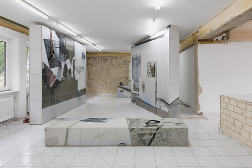 "<i>Installation view, ""remnant"", Kasseler Kunstverein, Kassel, Germany, 2017</i>,       <br />             <br />"
