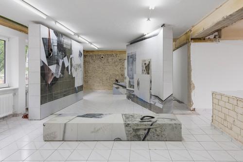 """»Installation view, """"remnant"""", Kasseler Kunstverein, Kassel, Germany, 2017«, <br /><br />"""