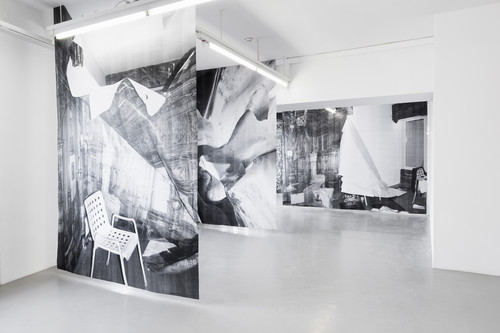 <i>Installation view GAK Bremen, Bremen, Germany, 2014</i>,       <br />             <br />