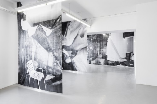 »Installation view GAK Bremen, Bremen, Germany, 2014«,       <br />             <br />