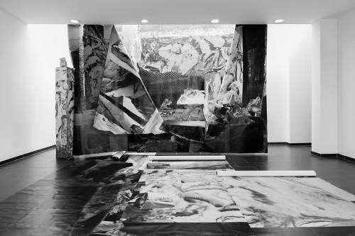 »Installation view S.A.L.T.S., Birsfelden, Switzerland, 2015«, <br /><br />photo: Gunnar Meier