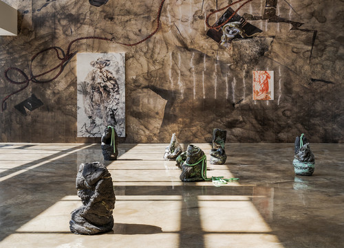»Installation view 'Even here, I exist', Barakat Contemporary, Seoul, South Korea, 2020«,       <br />             <br />