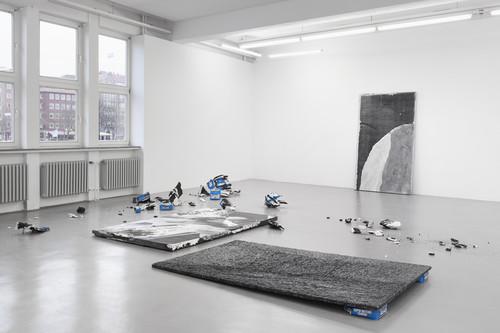»Installation view GAK Bremen, Bremen, Germany, 2014«,       <br />             <br />