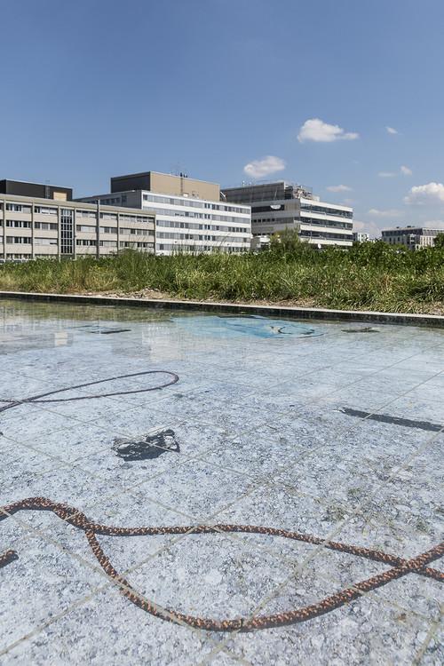 »Installation view, Neuer Norden Zürich, KiöR Kunst im öffentlichen Raum, Zurich, Switzerland, 2018«,       <br />             <br />