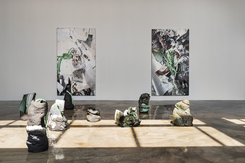<i>Installation view 'Even here, I exist', Barakat Contemporary, Seoul, South Korea, 2020</i>,       <br />             <br />