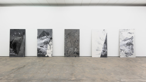 <i>Installation view, Wentrup, Berlin, Germany, 2014/15</i>,       <br />             <br />