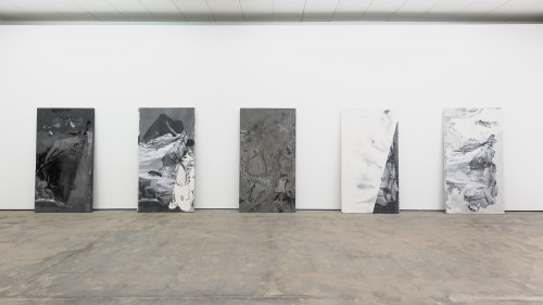 »Installation view, Wentrup, Berlin, Germany, 2014/15«, <br /><br />