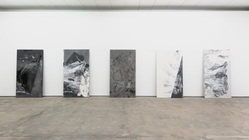 »Installation view, Wentrup, Berlin, Germany, 2014/15«, <br /><br />