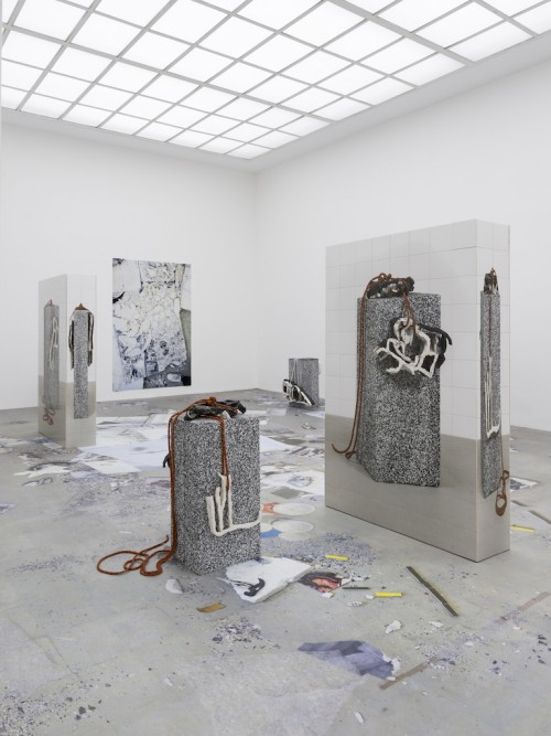 """»Installation view, """"Made in Germany Drei"""", Kunstverein Hannover, Hanover, Germany, 2017«, <br /><br />"""