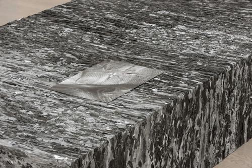 »papier-mâché«,       <br />             <br />      Installation view Kunstmuseum Stuttgart, Stuttgart, Germany, 2013 (Detail)