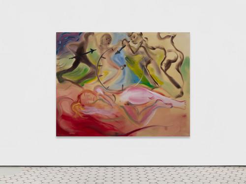 »Timeless«,       2019<br />      acrylic on canvas,        180 x 230 cm<br />