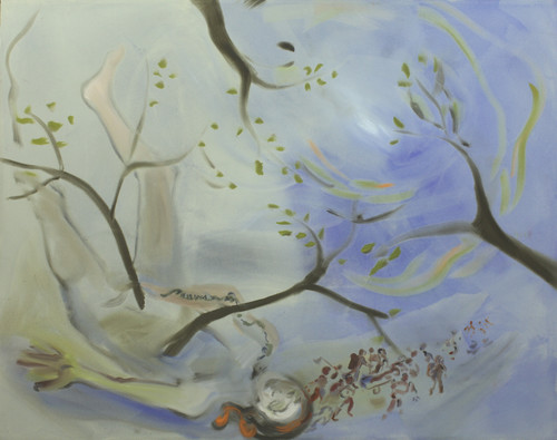 <i>The Drama continues 2</i>,       2010<br />      acrylic on canvas,        170 x 200 cm<br />
