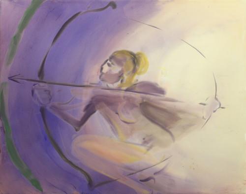 <i>The Drama continues</i>,       2010<br />      acrylic on canvas,        170 x 200 cm<br />