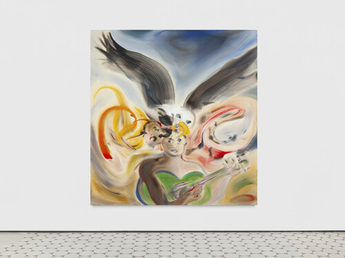 <i>Hope & History</i>,       2020<br />      acrylic on canvas,        200 x 190 cm<br />
