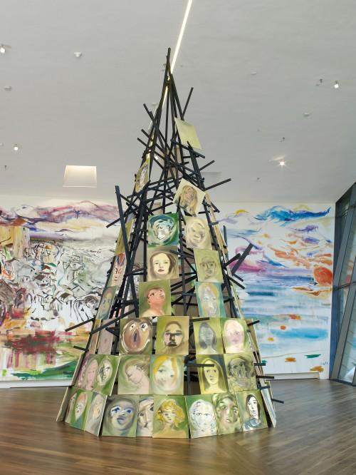 »Installation view: Sophie von Hellermann Firstsite, Colchester, Essex«, 2013<br /><br />