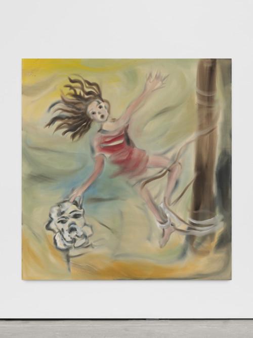 <i>Tragedy</i>,       2019<br />      acrylic on canvas,        200 x 190 cm<br />