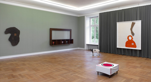 <i>homey</i>,       works from 1981-2013<br />             <br />      Installation View Museum Morsbroich / Leverkusen, Germany, 2013