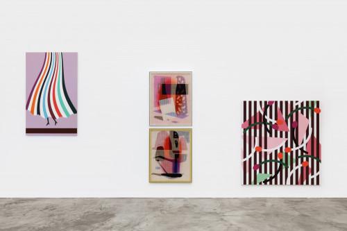 <i>Exhibition view: Thomas Wachholz   David Renggli – Cha Cha Cha</i>,       2021<br />             <br />