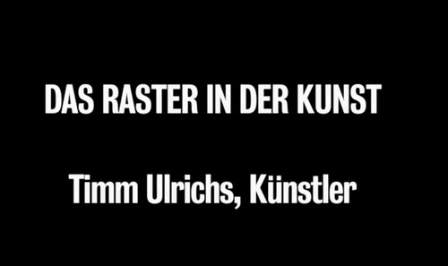 »Timm Ulrichs, interview on the occasion of the exhibtion 'Rasterfahndung' at Kunstmuseum Stuttgart«, 2012<br /><br />