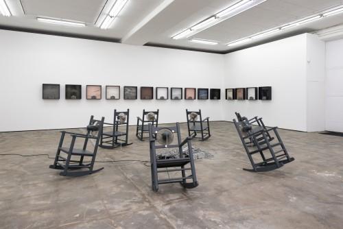 »Installation view, WENTRUP, Berlin, Germany«,       2017<br />             <br />