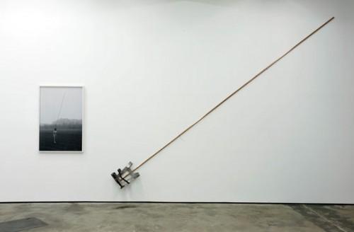 »Installation view Wentrup, Berlin, Germany«, 2010<br />Photo<br />