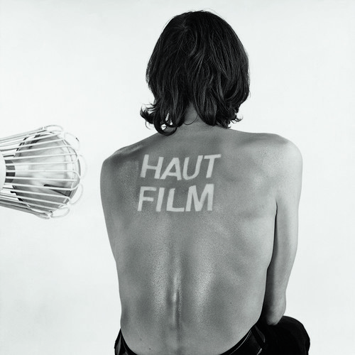 <i>Haut-Film</i>,       1966/1969<br />      photogram, black white photography,        100 x 100 cm<br />      tanning of human skin as a cinematic prozess