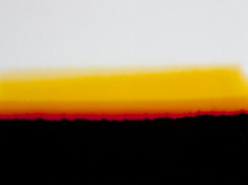 <i>Landschafts-Epiphanie</i>,       1972/1987<br />      Cibachrome colorprint transparency in lightbox plus framed filmstrip,        80 x 100 x 10 cm<br />