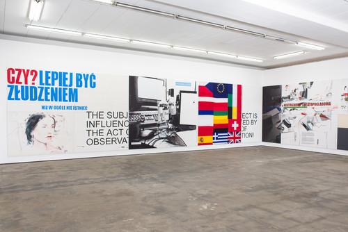 <i>Installation view - 'In Regress', Wentrup, Berlin</i>,       2013<br />             <br />