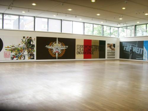 »Installation view - 'Wawrzyniec Tokarski', Saarland Museum, Saarbrücken«, 2007<br /><br />