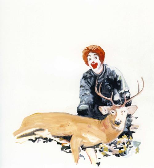 <i>Ronald</i>,       2006<br />      Acrylic on canvas,        240 x 240 cm<br />