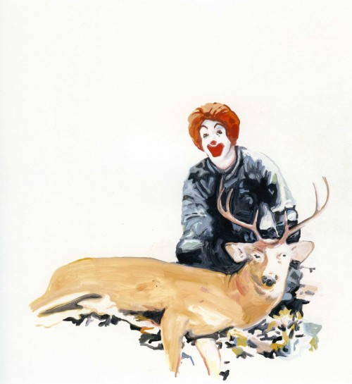 »Ronald«, 2006<br />Acrylic on canvas, 240 x 240 cm<br />