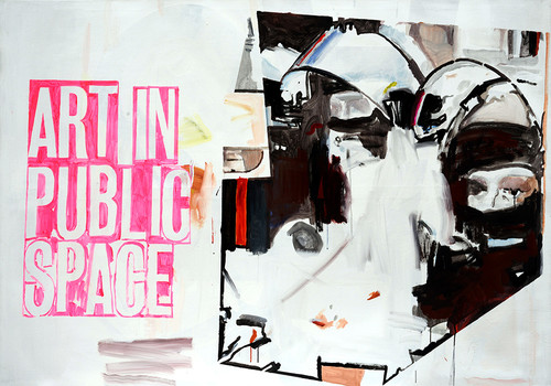 <i>Art in Public Space</i>,       2015<br />      acrylic on canvas,        140 x 200 cm<br />