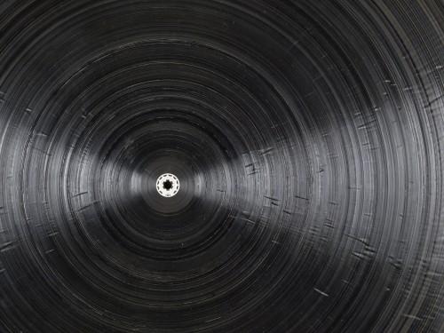»schwarze Platte«, 2015<br />Detail<br />