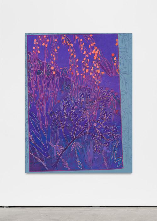 <i>sways soft clamoring</i>, 2016<br />oil on canvas, 150 x 115 cm<br />
