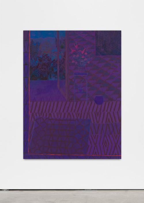 »sultry daze divested«, 2016<br />oil on canvas, 150 x 115 cm<br />