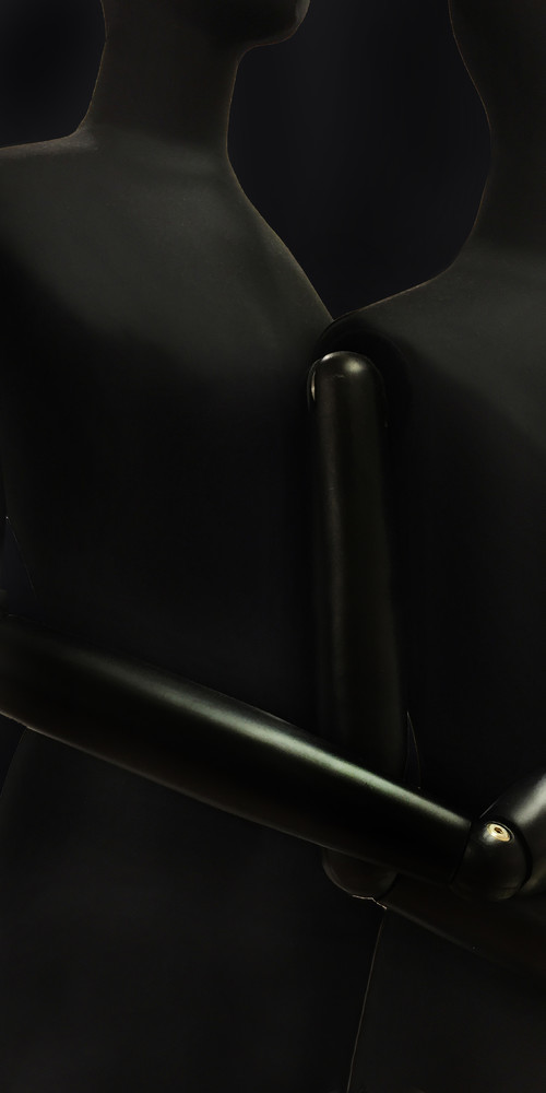 <i>Gliedermensch #25</i>, 2017<br />inkjet print, 100 x 50 cm<br />