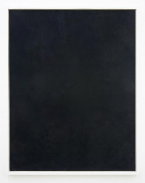 »Reflektion über das Licht«, 2009<br />soot on wood, 156 x 123 x 6 cm<br />