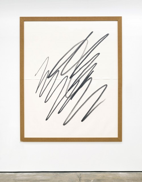 »Big Scribble #6 (slim)«, 2018<br />pencil on paper, 2018<br />