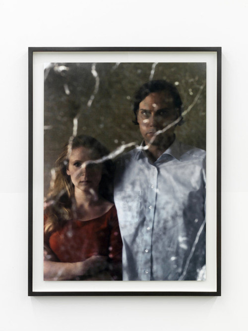 <i>Alicja und ich</i>, 2011<br />c-print photograph on diabond, 95 x 71 cm<br />