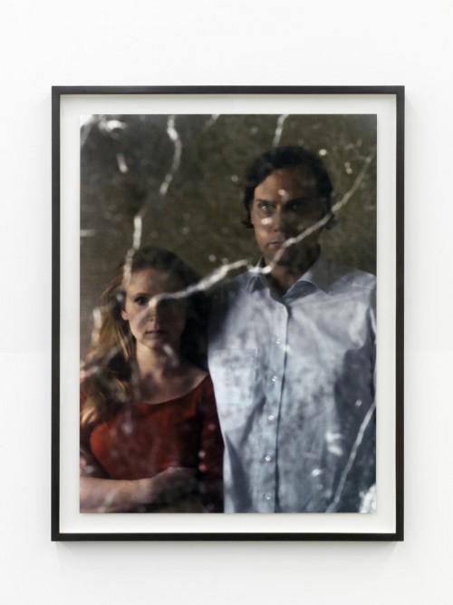 »Alicja und ich«, 2011<br />c-print photograph on diabond, 95 x 71 cm<br />