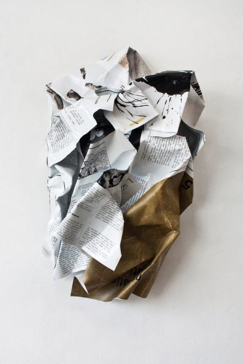 »Situationists«, 2013<br />Digital print on aluminum<br />