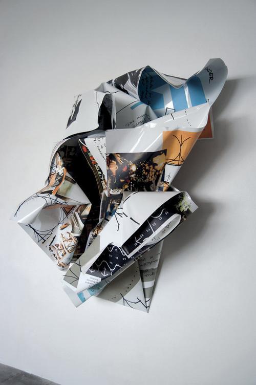 <i>Yona Friedman</i>, 2011<br />Digital print on aluminum<br />