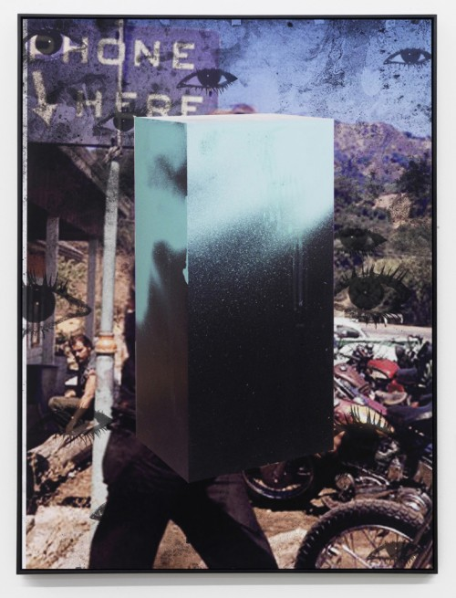 »Echo III«, 2010<br />Pigment print on hand made paper mounted on aluminium, 137 x 104 x 4.5 cm<br />