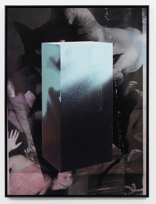 <i>Echo I</i>, 2010<br />Pigment print on hand made paper mounted on aluminium, 137 x 104 x 4.5 cm<br />