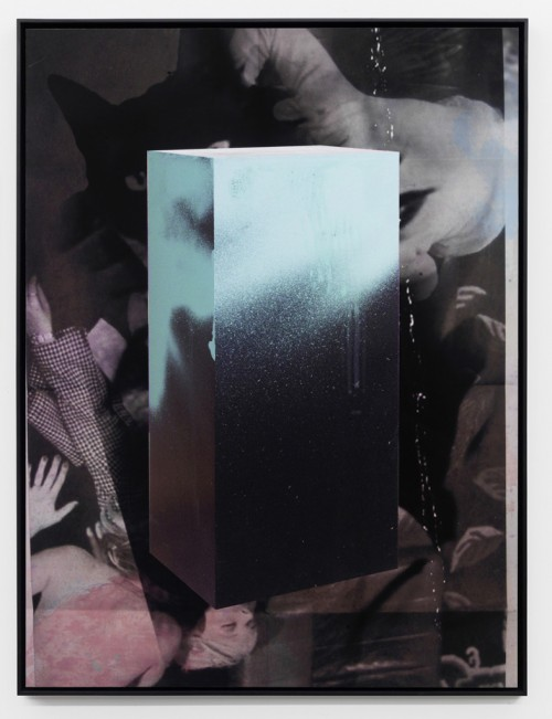 »Echo I«, 2010<br />Pigment print on hand made paper mounted on aluminium, 137 x 104 x 4.5 cm<br />