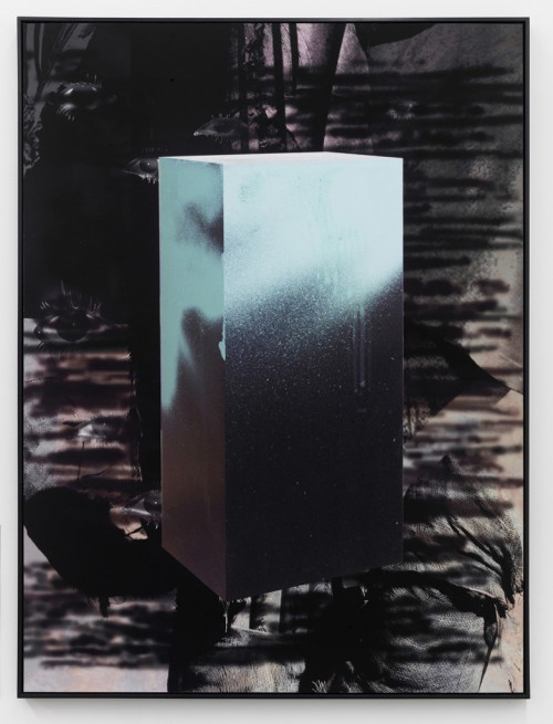 »Echo II«, 2010<br />Pigment print on hand made paper mounted on aluminium, 137 x 104 x 4.5 cm<br />