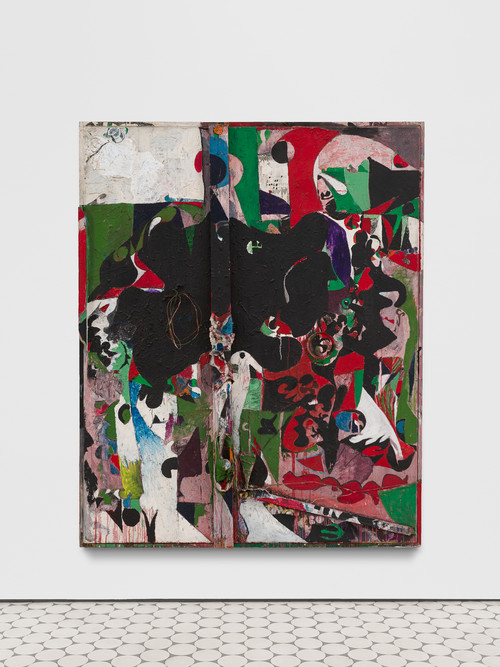 »Variations of a Poem II«, 1963-70<br />oil, acrylic and mixed media on canvas, 206 x 166 x 15 cm<br />Photo credit: Trevor Good