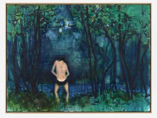 DANIEL RICHTER<br />»Venus M.F.«, 2013<br />oil on canvas, 90 x 120 cm<br />