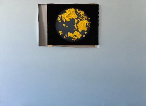 WILHELM SASNAL<br />»The Sun«, 2011<br />oil on canvas, 160 x 220 cm<br />